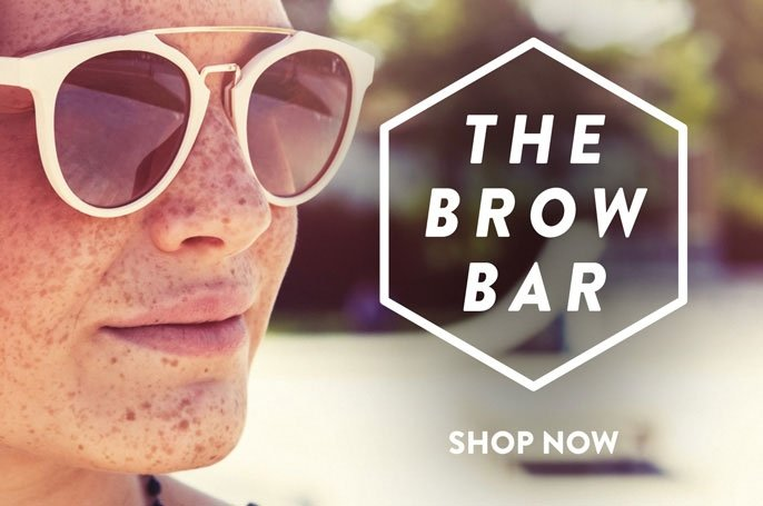 brow bar sunglasses wholesale