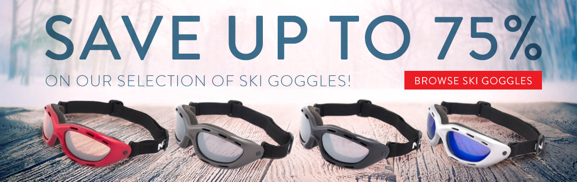Ski Goggles Up to 75% off