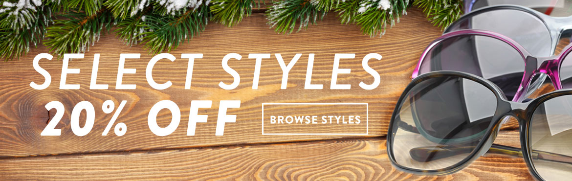 December Sunglasses Specials